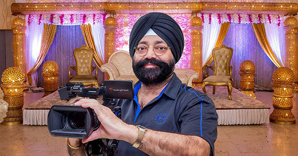 Indian Videographer Surinder Singh