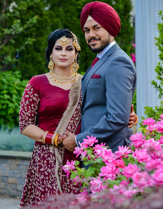 Punjabi wedding photography New Jersey